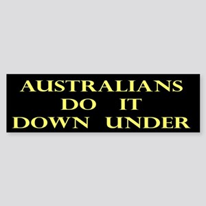 Australians Gift Bumper Sticker