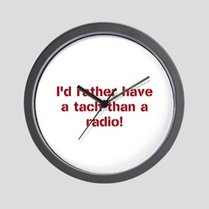 Rather Have a Tach Wall Clock