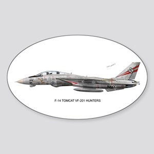VF-201 Hunters Oval Sticker