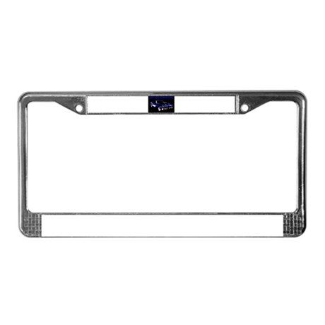 My Car Is Bad Ass License Plate Frame & Muscle Car License Plate Frames - CafePress