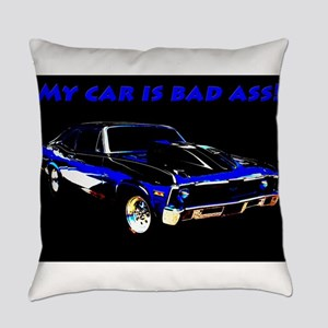 My Car Is Bad Ass Everyday Pillow