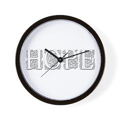 Hope Wall Clock