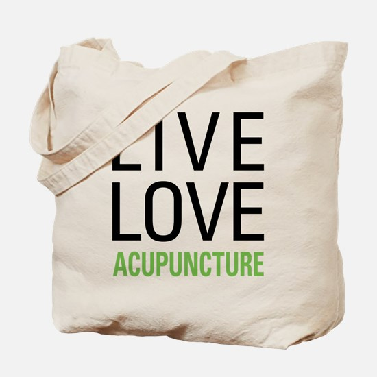 Live Love Acupuncture Tote Bag