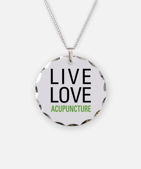 Live Love Acupuncture Necklace