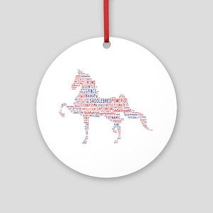 American Saddlebred Ornament (Round) Ornament (Rou