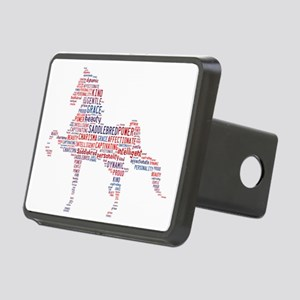 American Saddlebred Rectangular Hitch Cover