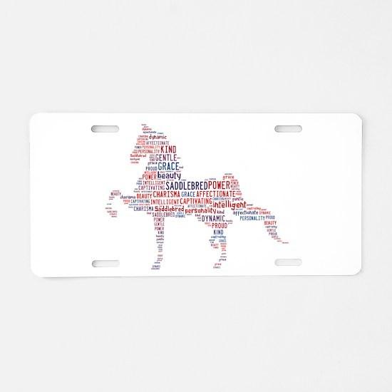 American Saddlebred Aluminum License Plate