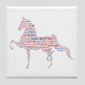 American Saddlebred Tile Coaster