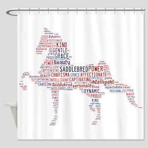 American Saddlebred Shower Curtain