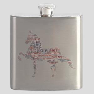 American Saddlebred Flask