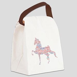 American Saddlebred Canvas Lunch Bag