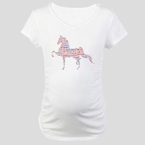 American Saddlebred Maternity T-Shirt