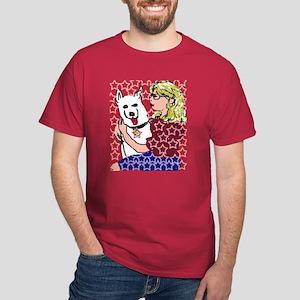 USA Dog Dark T-Shirt