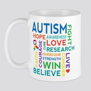 Autism Word Cloud Mug