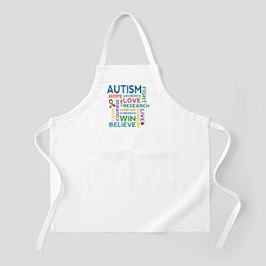 Autism Word Cloud Apron