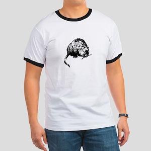 Muskrat Illustration T-Shirt