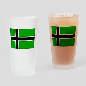 Vinland Flag Drinking Glass