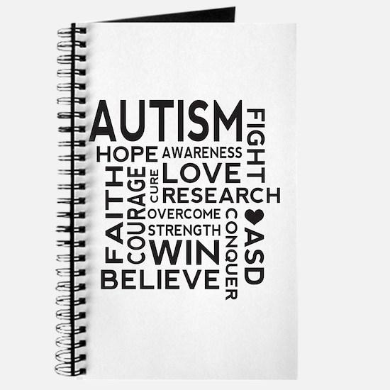 Autism Word Cloud Journal