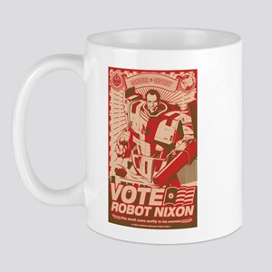 all hail robot nixon Mug