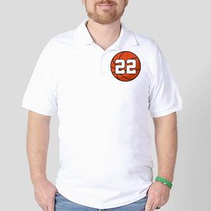 Basketball Player Number 22 Golf Shirt