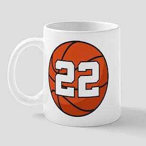 Basketball Player Number 22 Mug