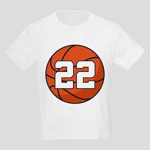 Basketball Player Number 22 Kids Light T-Shirt
