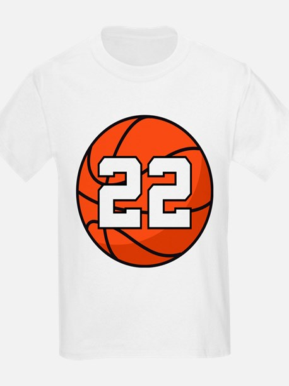 Basketball Player Number 22 T-Shirt
