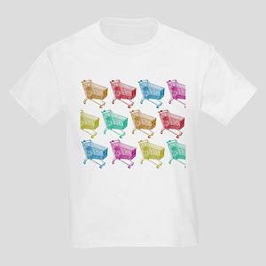 Pop Art color shopping cart T-Shirt
