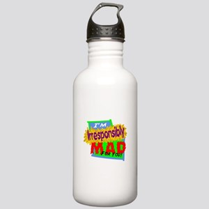 Irresponsibly Mad For You Water Bottle