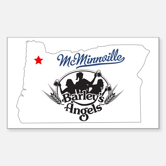 McMinnville Barley's Angels  Sticker (Rectangle)