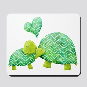 Turtle Hugs Mousepad