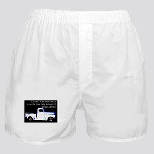 No Speed Limits Boxer Shorts