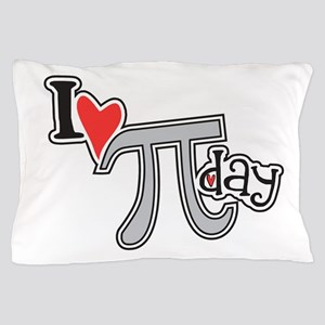 I Heart (Love) Pi Day Pillow Case