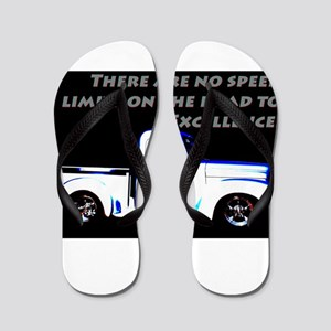 No Speed Limits Flip Flops