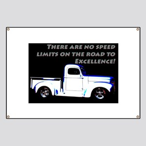 No Speed Limits Banner