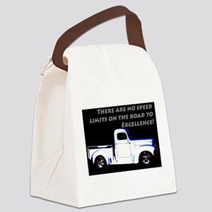 No Speed Limits Canvas Lunch Bag