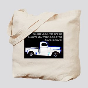 No Speed Limits Tote Bag