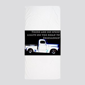 No Speed Limits Beach Towel