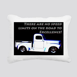 No Speed Limits Rectangular Canvas Pillow