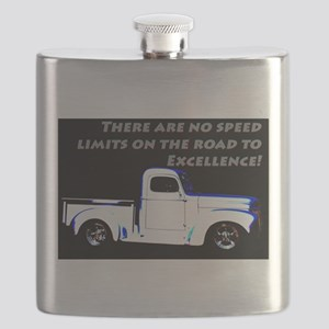 No Speed Limits Flask