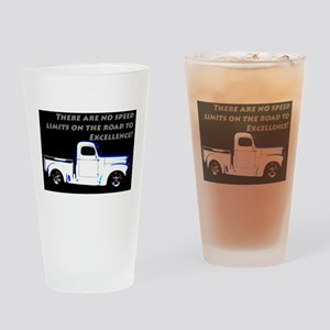 No Speed Limits Drinking Glass