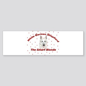 The Smart Blonde Bumper Sticker