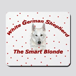 The Smart Blonde Mousepad