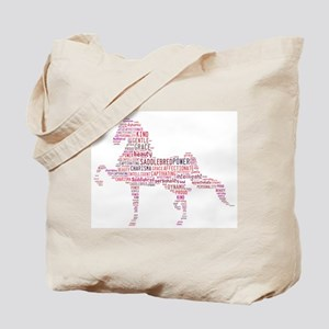 Saddlebred Art in Pink Tote Bag