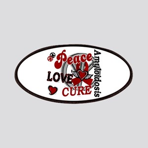 Peace Love Cure 2 Amyloidosis Patches