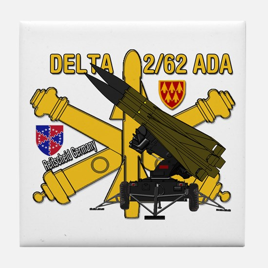 Delta 2/62 Ada Tile Coaster