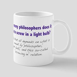 How Many Philosophers... Mug