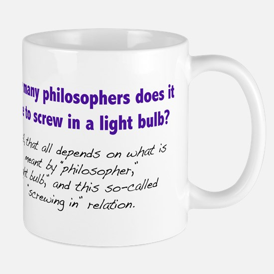 How Many Philosophers... Mug