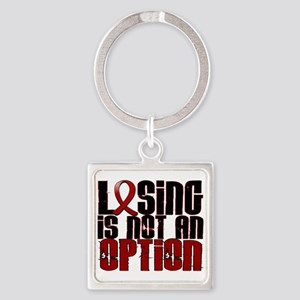 Losing Is Not Option Amyloidosis Square Keychain