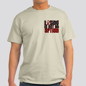 Losing Is Not Option Amyloidosis Light T-Shirt